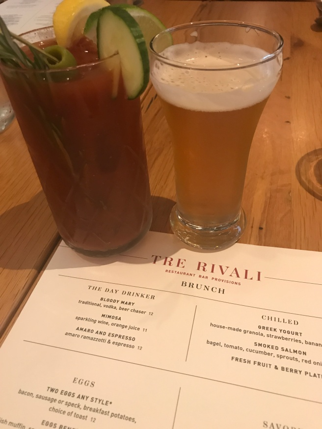 Bloody mary with beer