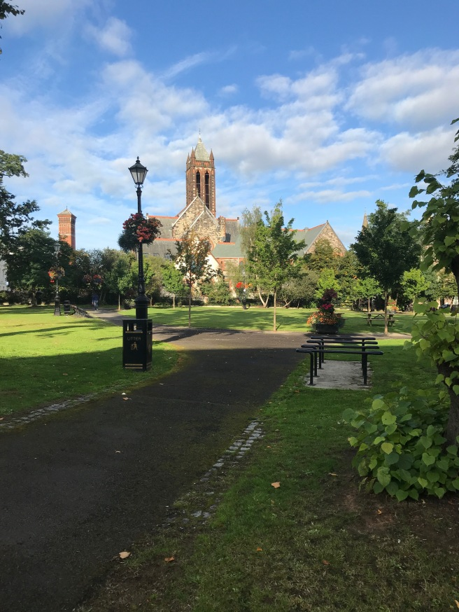 Cresent Gardens and Church