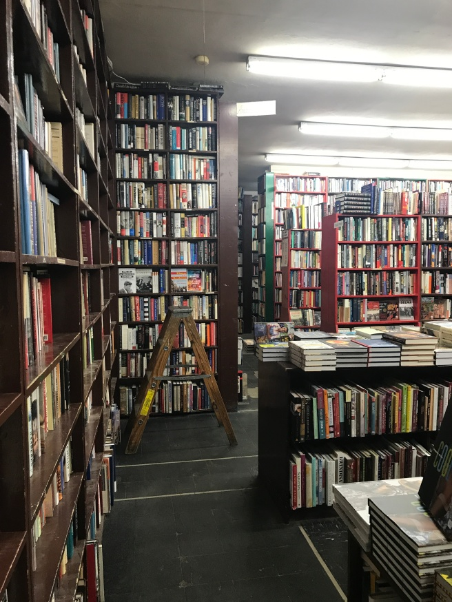 Backroom at Powell's Books