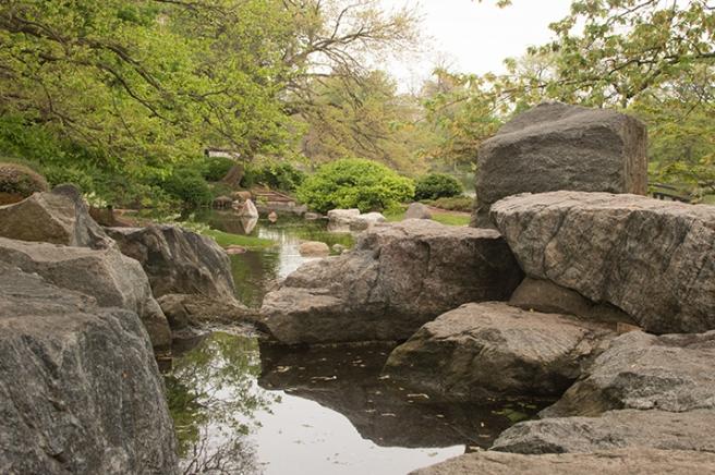 Japanese Garden in Jackson Park