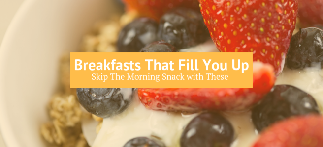 Grain Free Dairy Free Breakfasts that fill you up