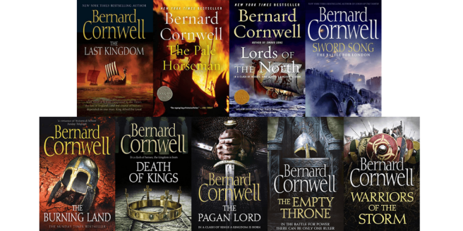 The Saxon Stories by Bernard Cornwell