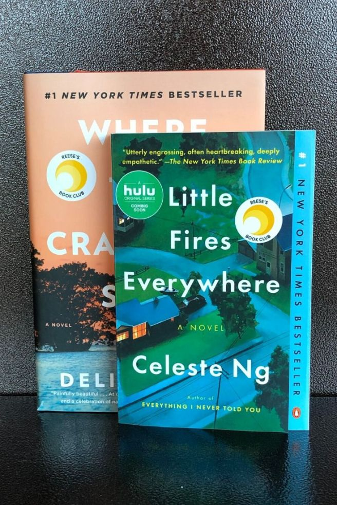 Books to film - Crawdads sing LIttle Fires Everywhere
